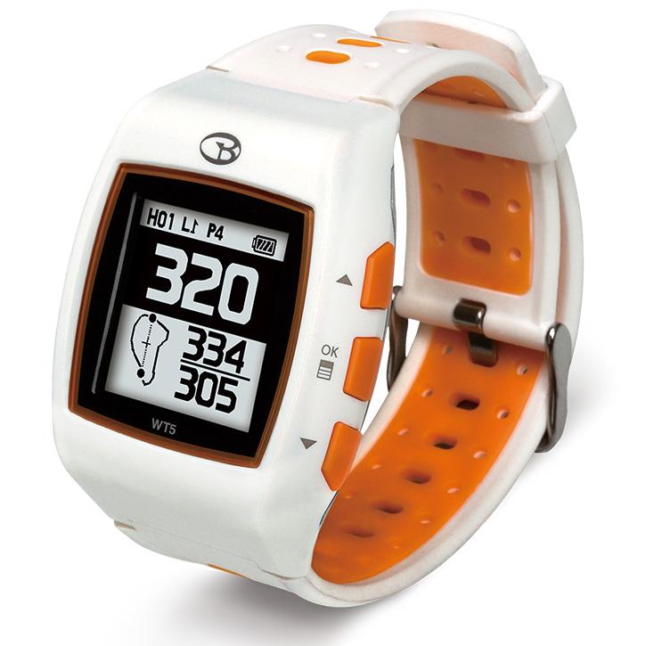 Golf Buddy WT5 GPS Golf Watch - White/Orange w/ $20 Mail in Rebate