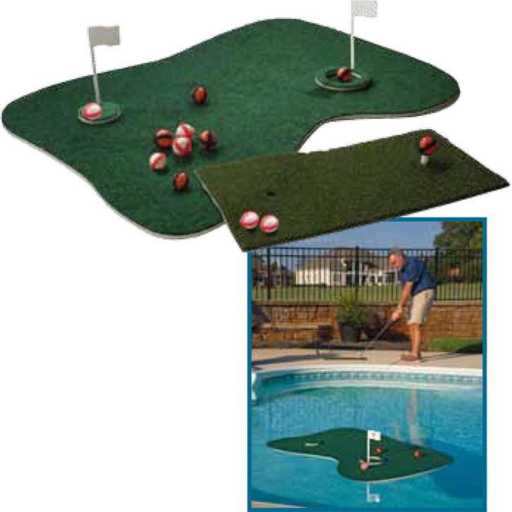 Aqua Golf Target Green