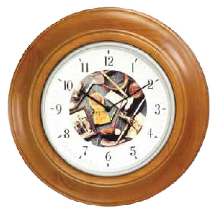 Golf Wall Clock - Oak