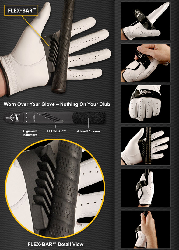 grip solid golf training aid