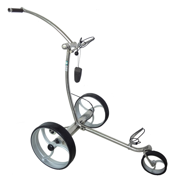 Grv Iron Plus Remote Electric Golf Push Cart At