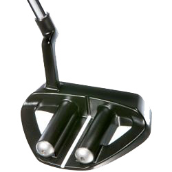 Guerin Rife 2 Bar Hybrid Mallet Black Putter