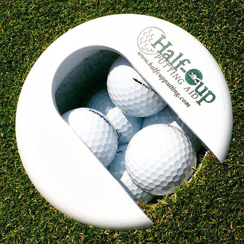 Half Cup Golf Putting Aid