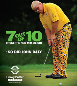 Heavy Putter John Daly