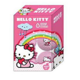 Hello Kitty Golf Balls (6 Pack)