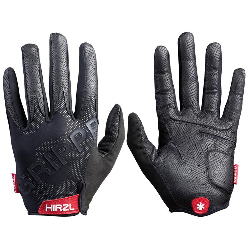 Hirzl Grippp Tour 2.0 Full Finger Leather Bike Gloves