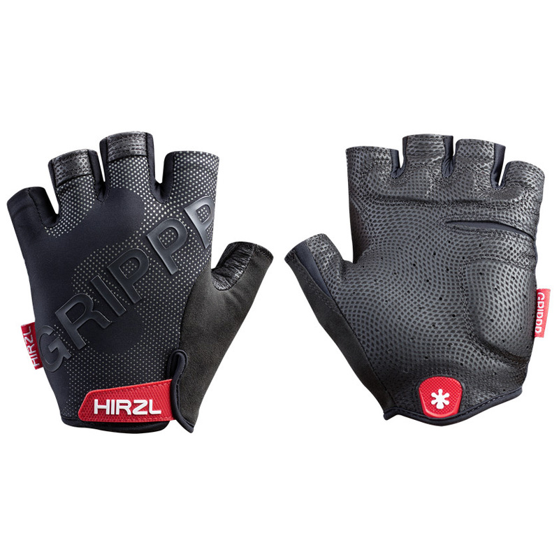 Hirzl Grippp Tour 2.0 Short Finger Leather Bike Gloves