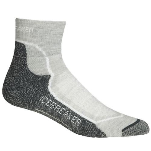 Icebreaker Hike+ Light Mini Socks - Womens White/Oil
