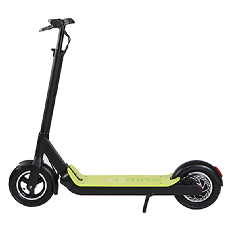 2018 I-MAX S1+ Electric Folding Lithium Scooter - Black/Green