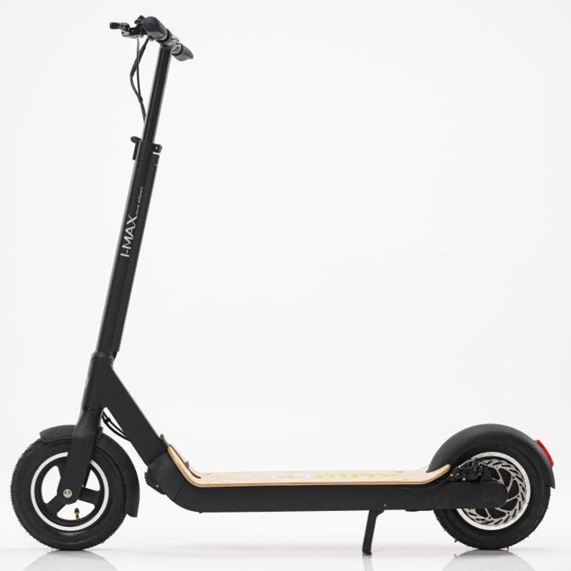 2018 I-MAX S1+ Electric Folding Lithium Scooter - Black/Wood