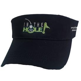 InTheHoleGolf.com Visor - Black
