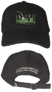 IN THE HOLE! Golf Hat
