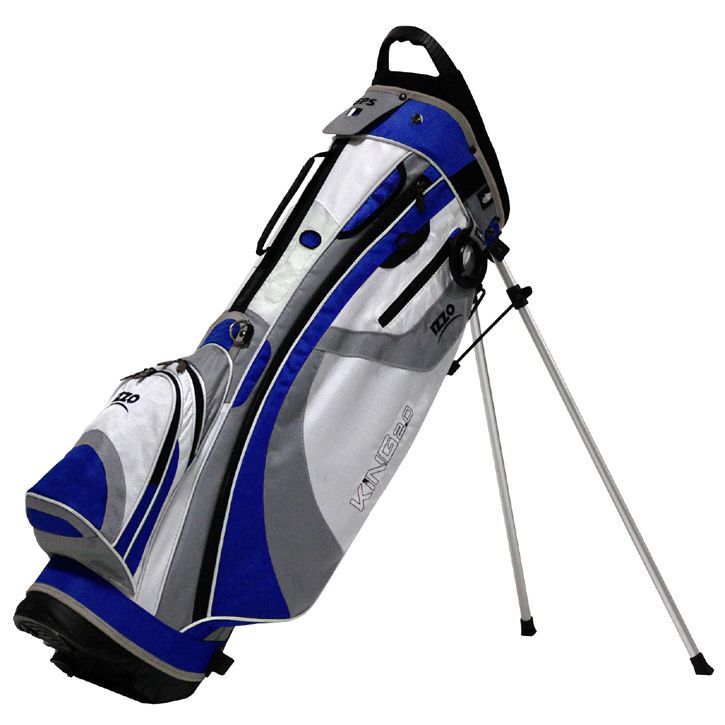 Izzo 2013 King Stand Bag - Blue/White/Grey