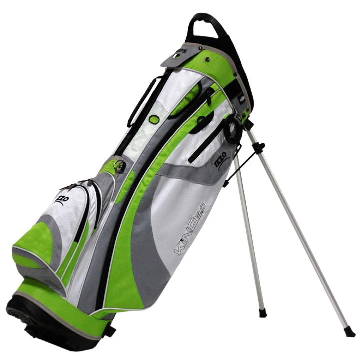 Izzo 2013 King Stand Bag - Lime/White/Green