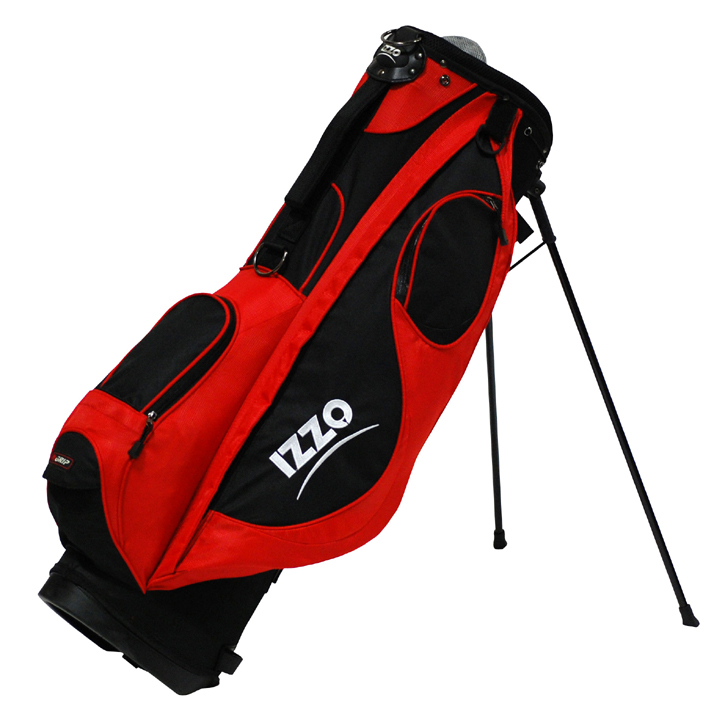 Izzo 2013 Neo Stand Bag - Red