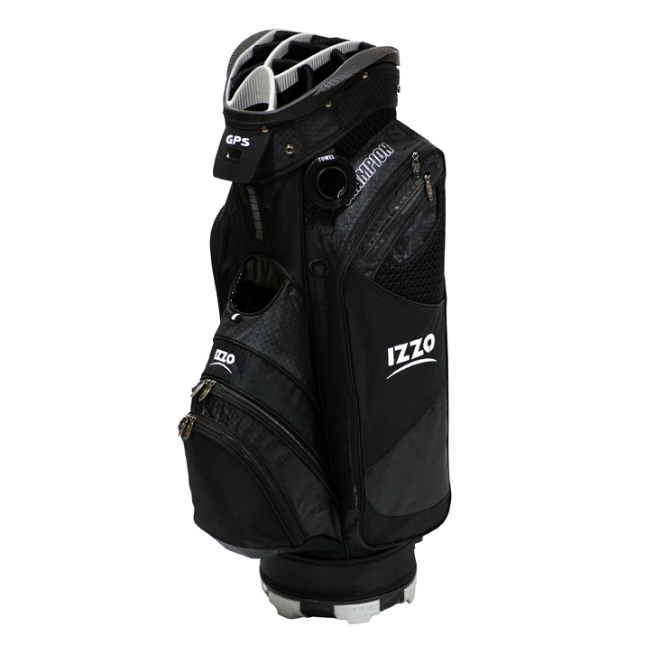 Izzo 2013 Champion Cart Bag - Black