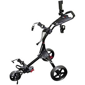 Izzo Golf Dart Push Cart - Black