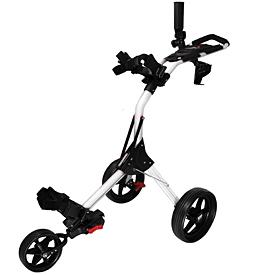 Izzo Golf Dart Push Cart - Silver