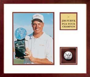 Jim Furyk -- Autographed Golf Ball
