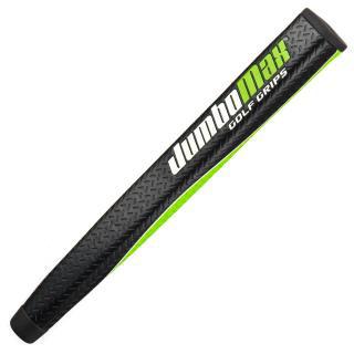 JumboMax Mid-Jumbo Putter Grip - Black/White/Lime