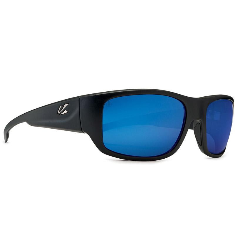 Kaenon Anacapa Polarized Sunglasses - Matte Black/Gunmetal - Pacific Blue Mirror