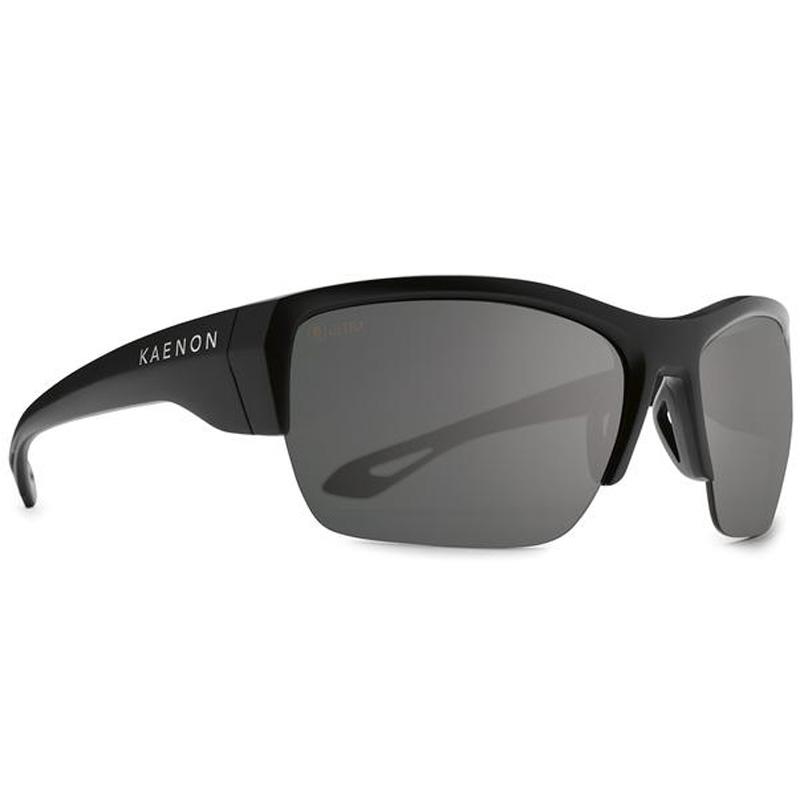 Kaenon Arcata SR Polarized Sunglasses - Matte Black/Ultra Grey 12 Black Mirror