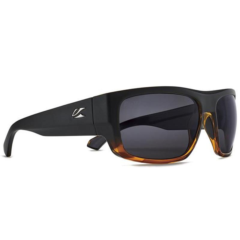 Kaenon Burnet FC Polarized Sunglasses - Black Matte Grip Tortoise/ Ultra Grey 12