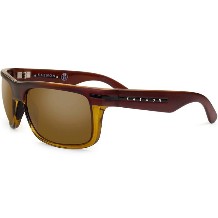 Kaenon Burnet Polarized Sunglasses - Whiskey B12