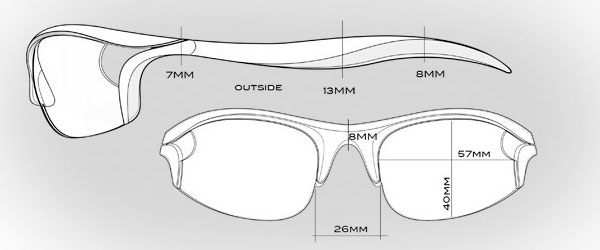kaenon golf sunglasses frame materials