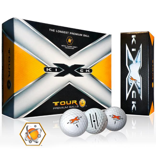 Kick X Tour Z Premium Golf Balls (1 Dozen)