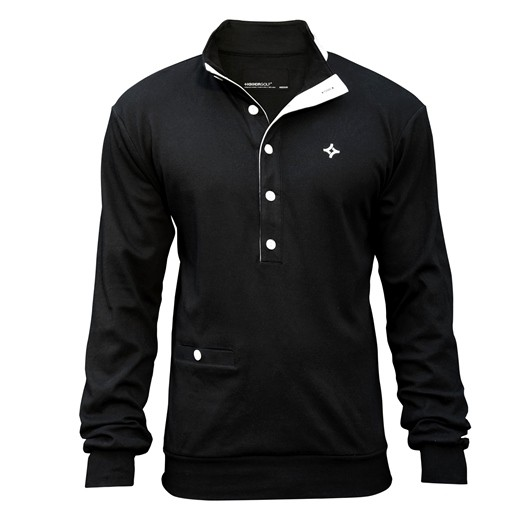 Image of Kikkor Early Bird Sweater - Mens Black