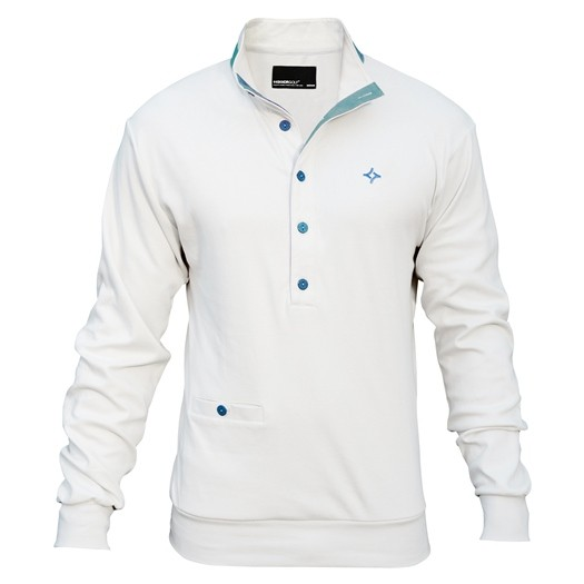 Kikkor Early Bird Sweater - Mens White