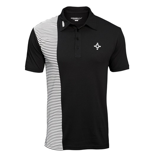 Kikkor Half Naked Polo - Mens Black