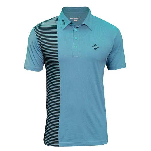 Kikkor Half Naked Polo - Mens Deep Sea Image