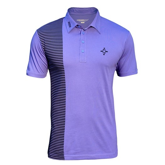Image of Kikkor Half Naked Polo - Mens Purple