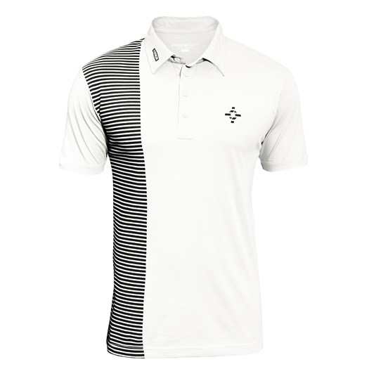 Kikkor Half Naked Polo - Mens White
