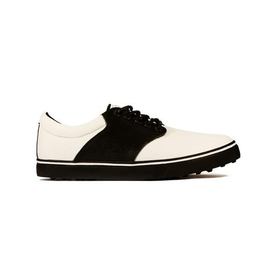 Kikkor Player Golf Shoe - Mens Black Saddle Image