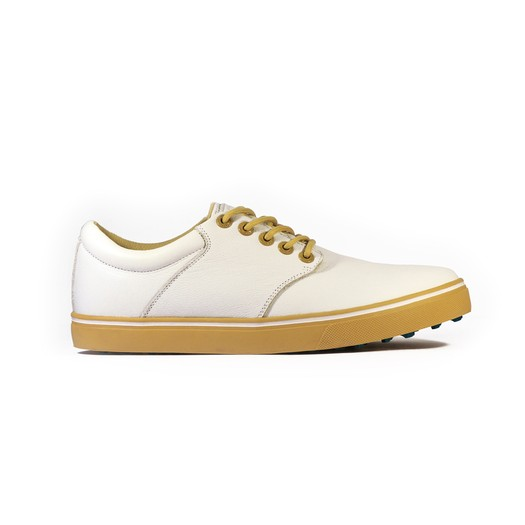 Kikkor Player Golf Shoe - Mens White Prep