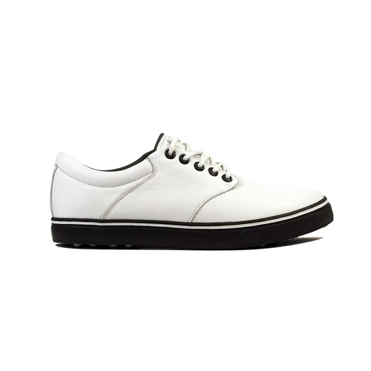 Image of Kikkor Player Golf Shoe - Mens White Solid