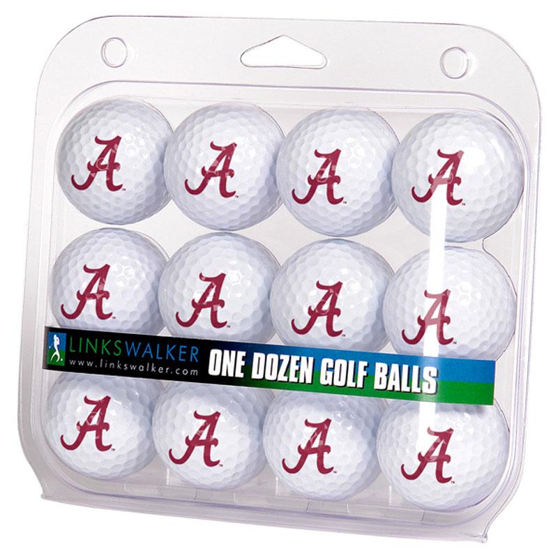 Alabama Crimson Tide Logo Golf Balls (1 Dozen)