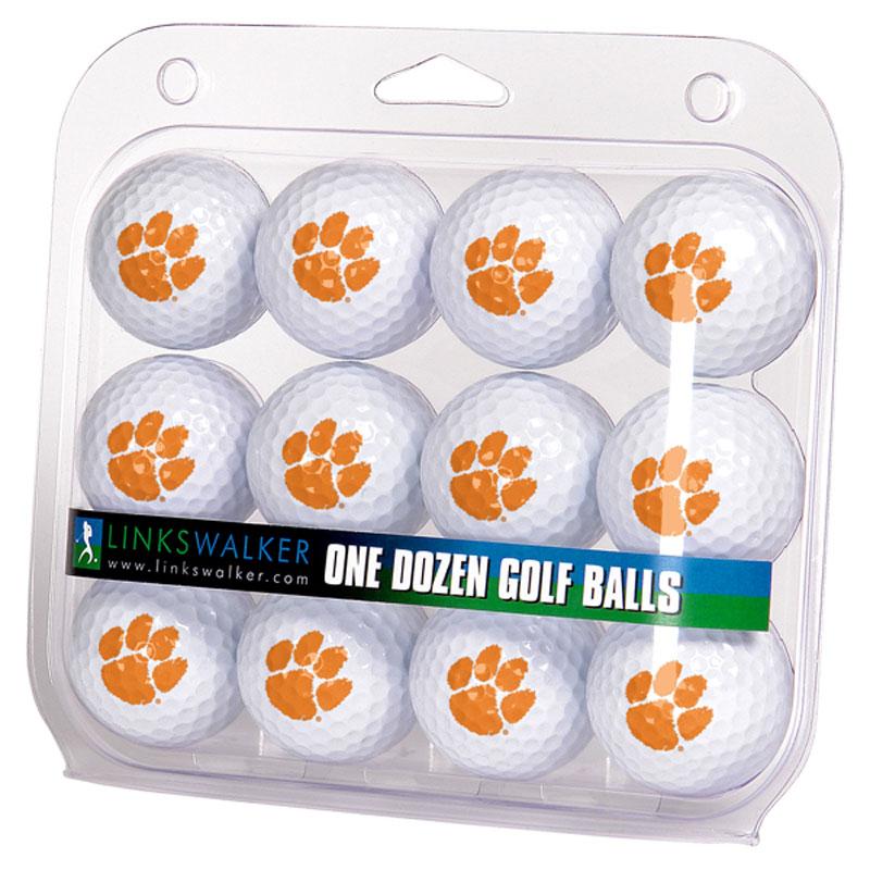 Clemson Tigers Logo Golf Balls (1 Dozen)