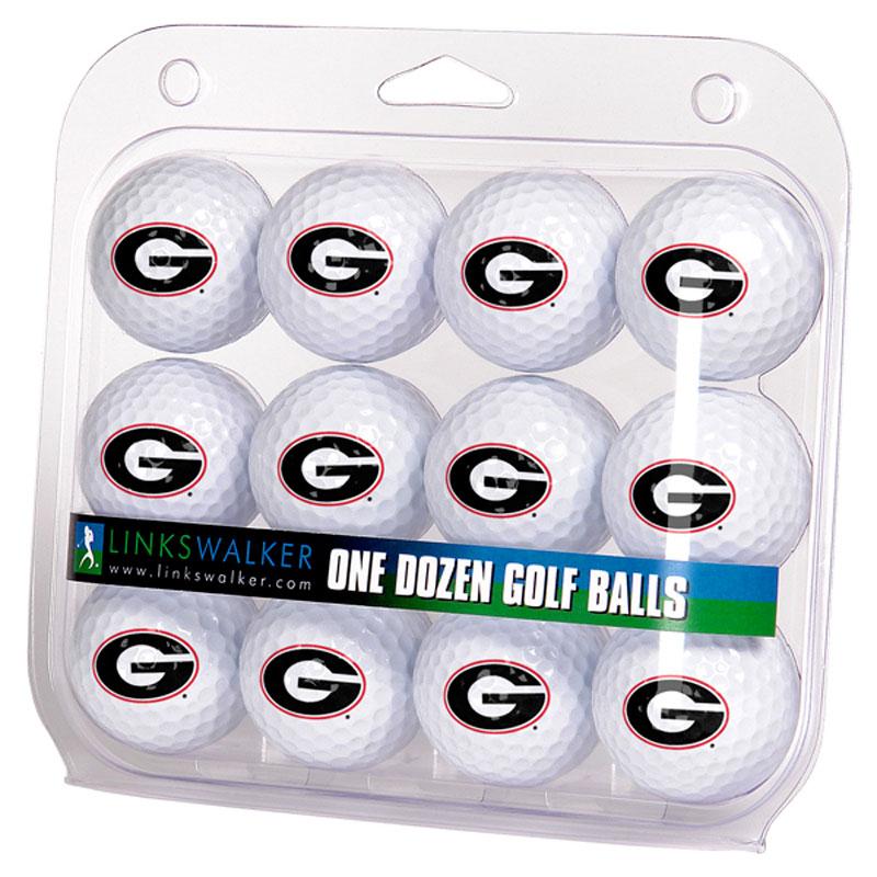 Georgia Bulldogs Logo Golf Balls (1 Dozen)