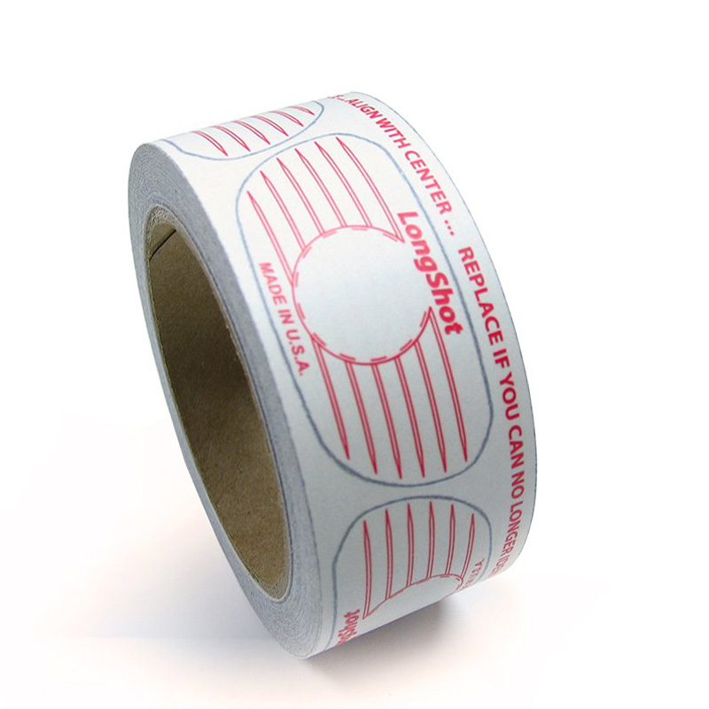 LongShot Golf Impact Labels- Regular Size Woods (500 Label Roll)