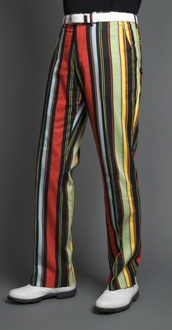Loudmouth Golf Pants - Hot Dog