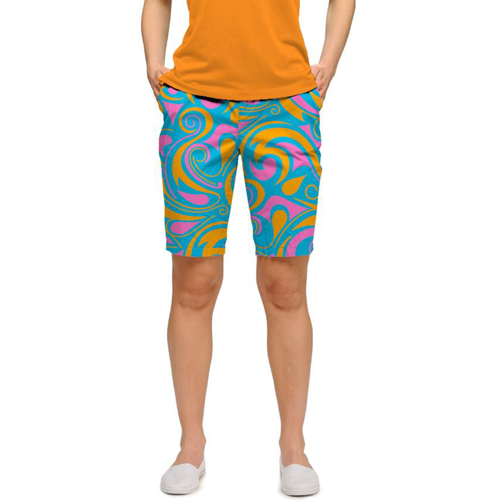 Loudmouth Golf Womens Shorts - Key West