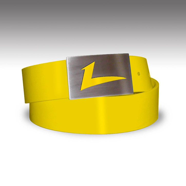 Loudmouth Golf Belt - Yellow
