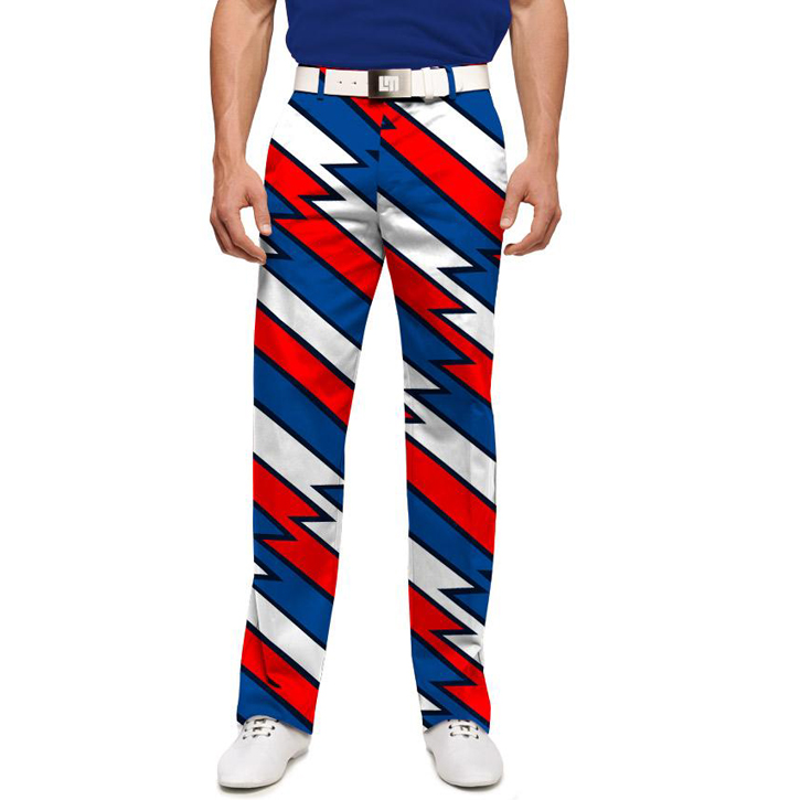 Loudmouth Golf Pants - Captain USA Image