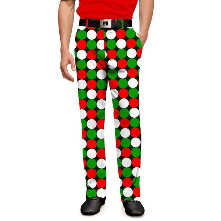 Loudmouth Golf Pants - Jingle Balls Image
