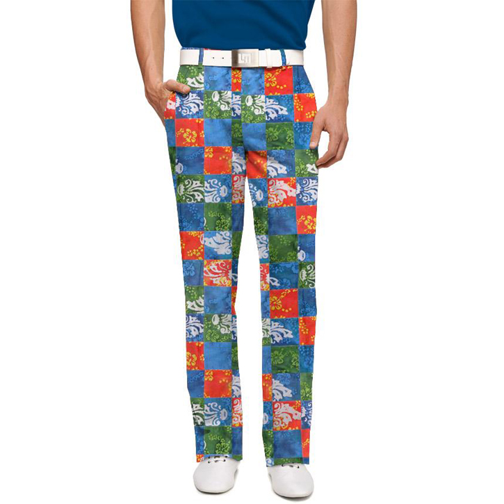 Loudmouth Golf Pants - Kapalua Image