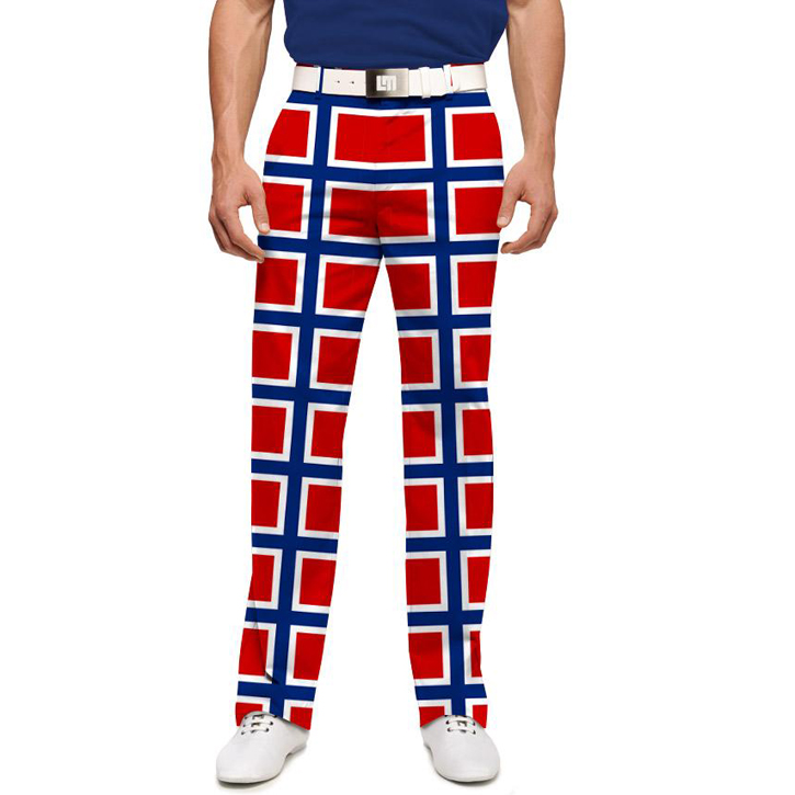 Loudmouth Golf Pants - Norway Flag